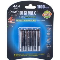 Digimax AAA 1100 mAh 1.2V Ni-MH Rechargeable Batteries